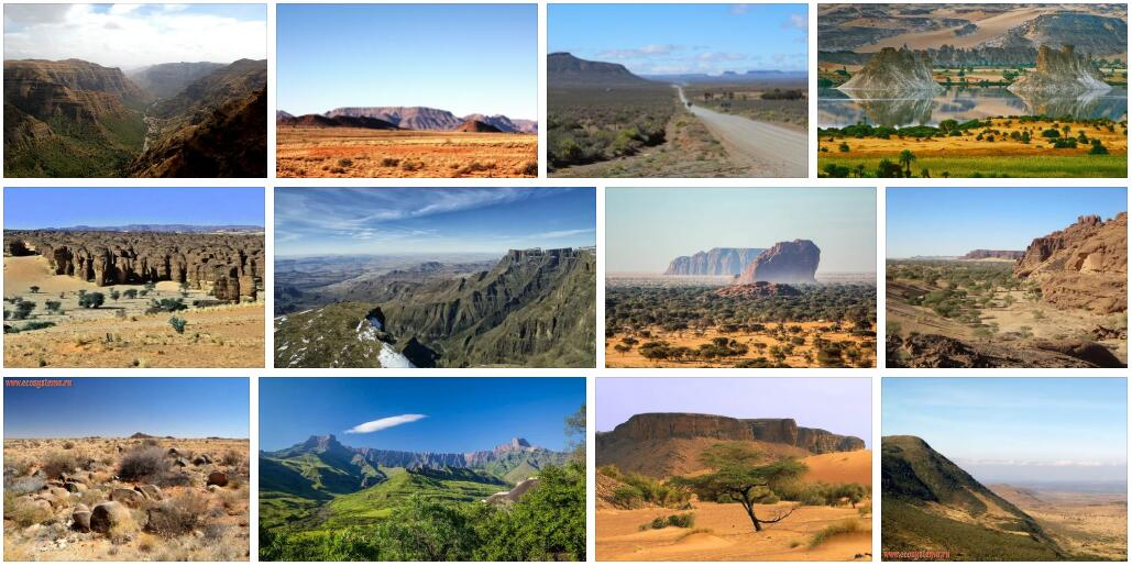 Africa Northern Plateau