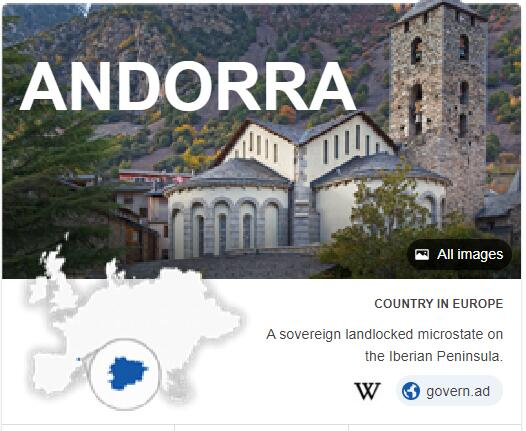 Where is Andorra