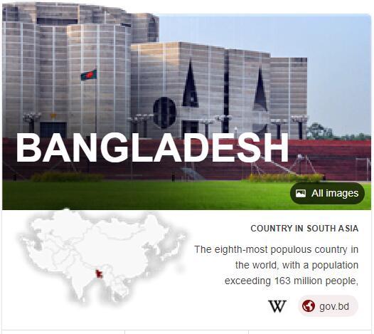 Where is Bangladesh