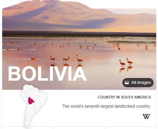 Where is Bolivia