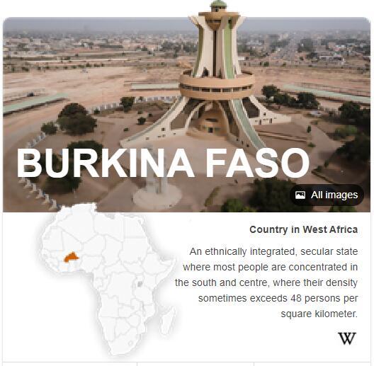 Where is Burkina Faso