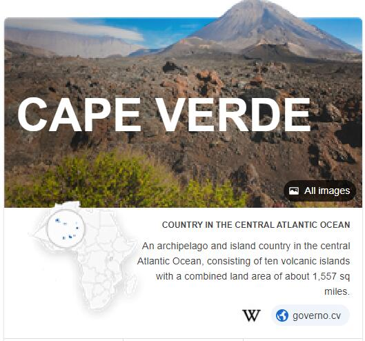 Where is Cabo Verde