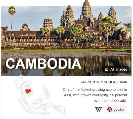 Where is Cambodia