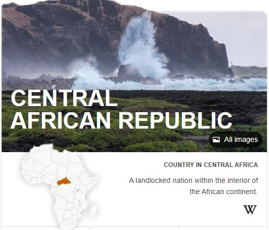 Where is Central African Republic