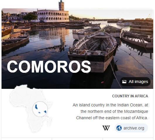 Where is Comoros