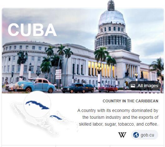 Where is Cuba