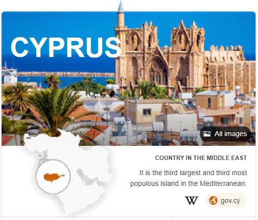 Where is Cyprus