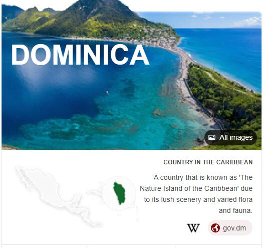Where is Dominica