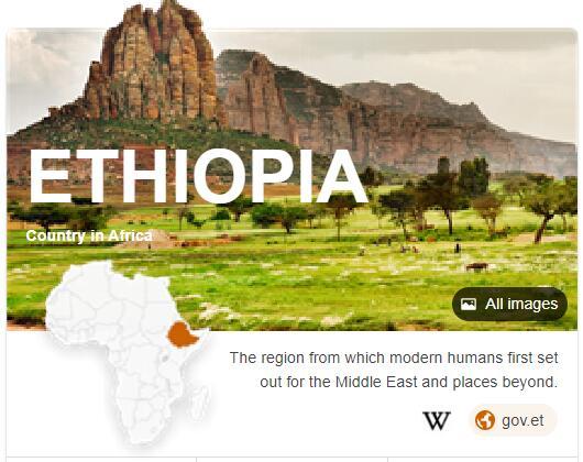 Where is Ethiopia