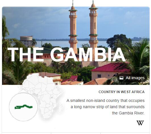 Where is Gambia