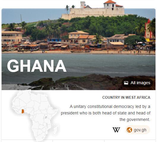 Where is Ghana