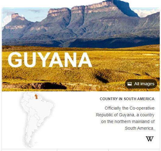 Where is Guyana