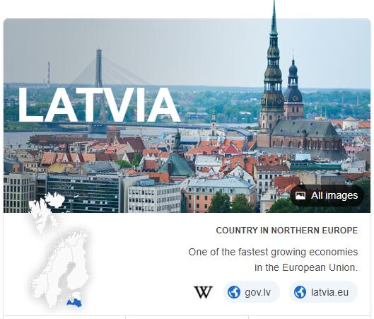 Where is Latvia