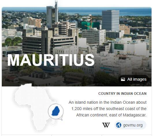 Where is Mauritius