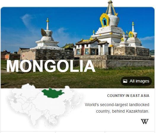 Where is Mongolia