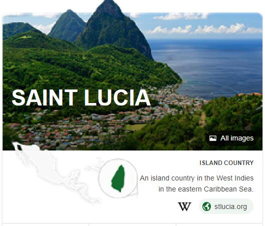 Where is Saint Lucia