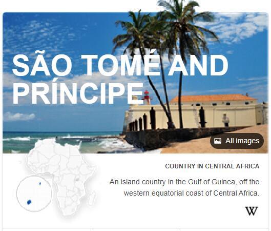 Where is Sao Tome and Principe