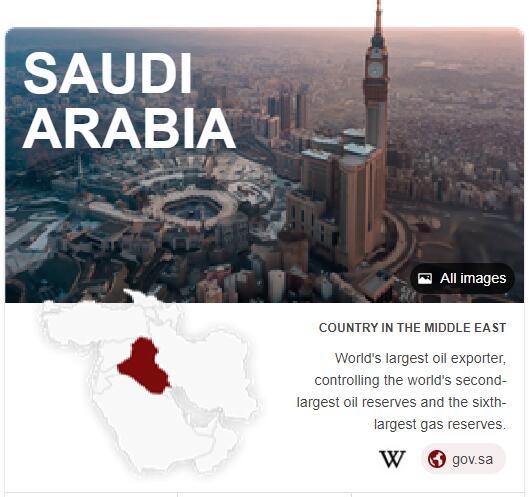 Where is Saudi Arabia