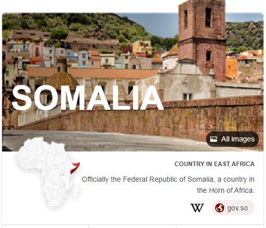 Where is Somalia