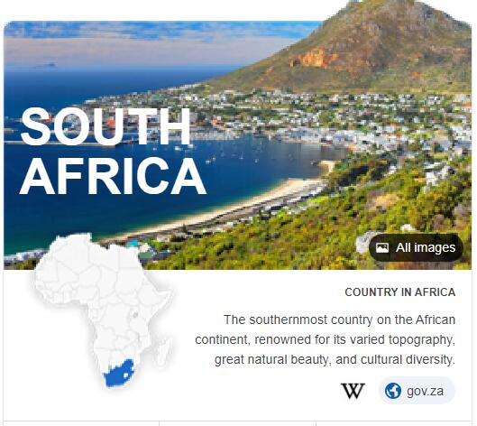 Where is South Africa