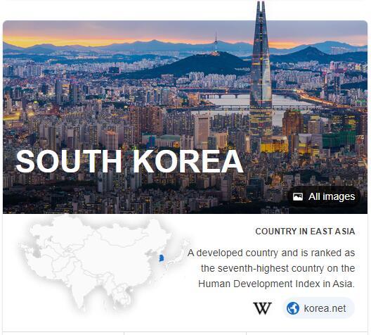 Where is South Korea