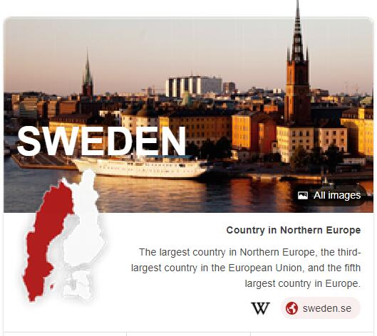 Where is Sweden
