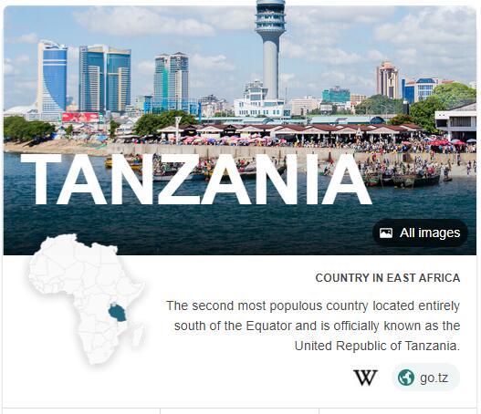 Where is Tanzania