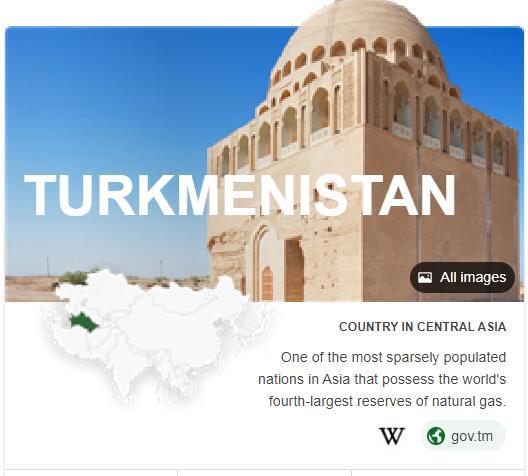 Where is Turkmenistan